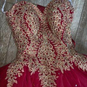 Fiesta Quinciera/Sweet 16 Dress